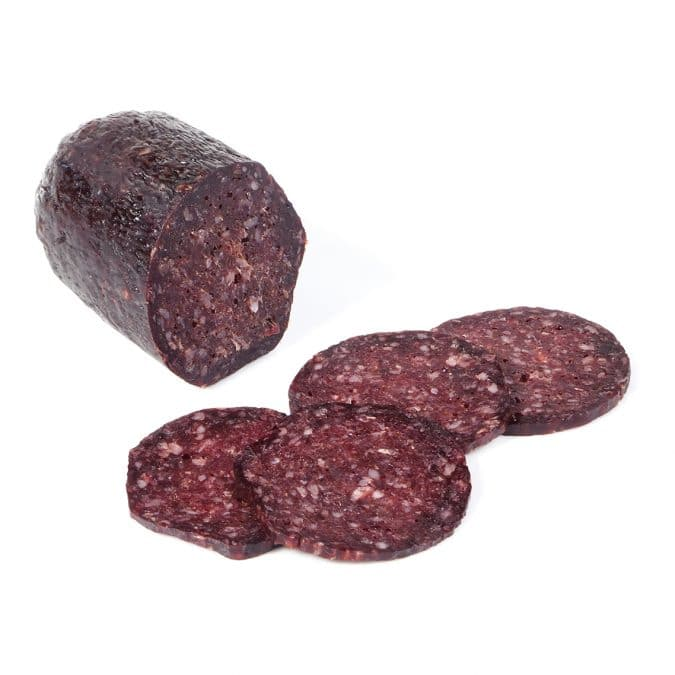 Saucisson sec loup marin phoque seal meat dry sausage charcuteries phoconailles seadna