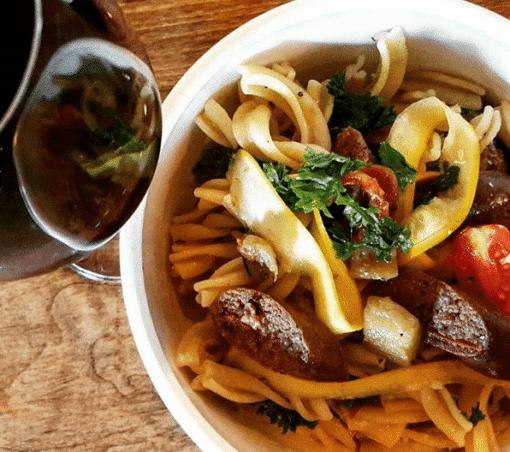 Pâtes Merguez de loup-marin_Crédit Photo @pates_bol_Instagram