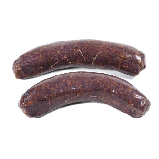 Saucisse viande loup marin phoque seal meat sausage seadna