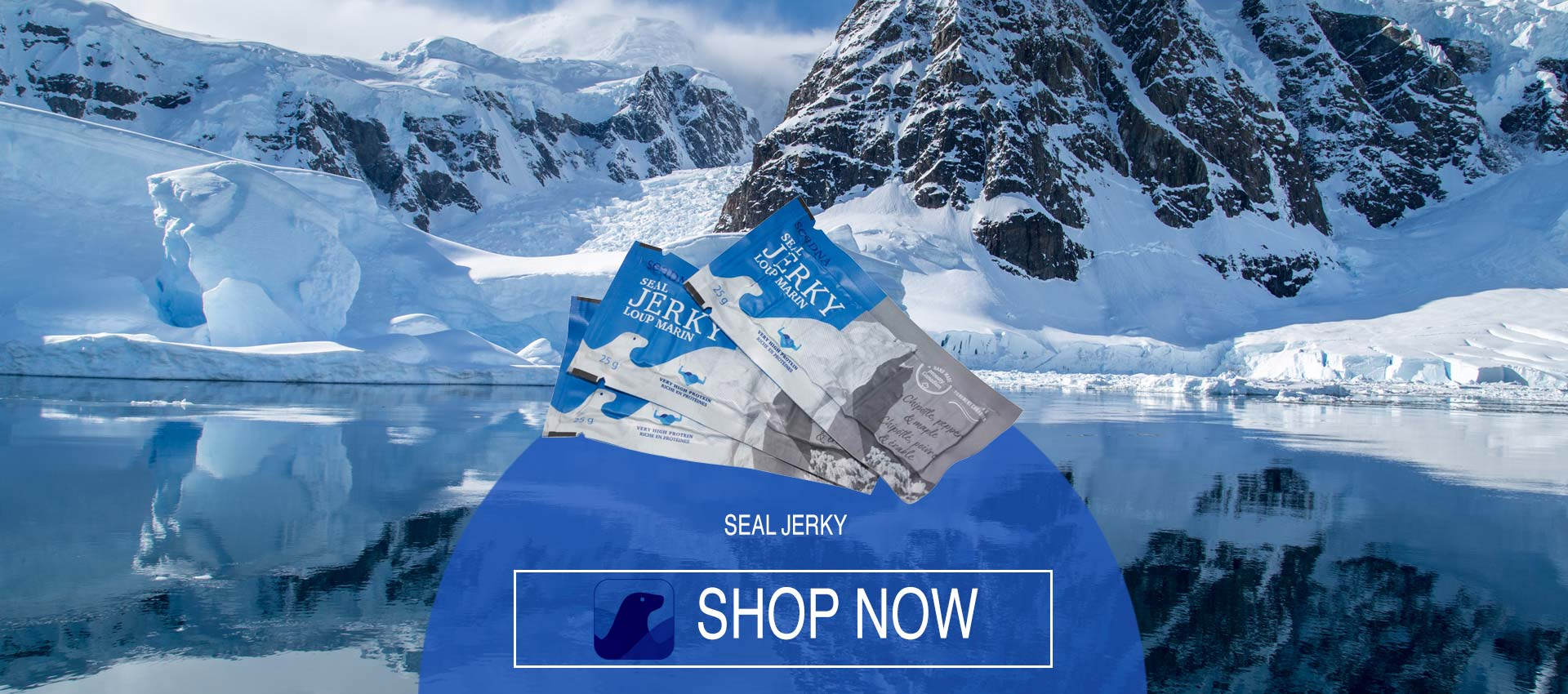 SeaDNA Seal Jerky